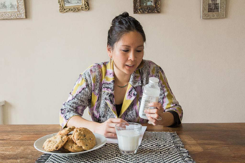 Camel milk tasting on misscheesemonger.com.