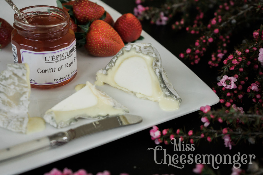 A Springtime cheese board on misscheesemonger.com