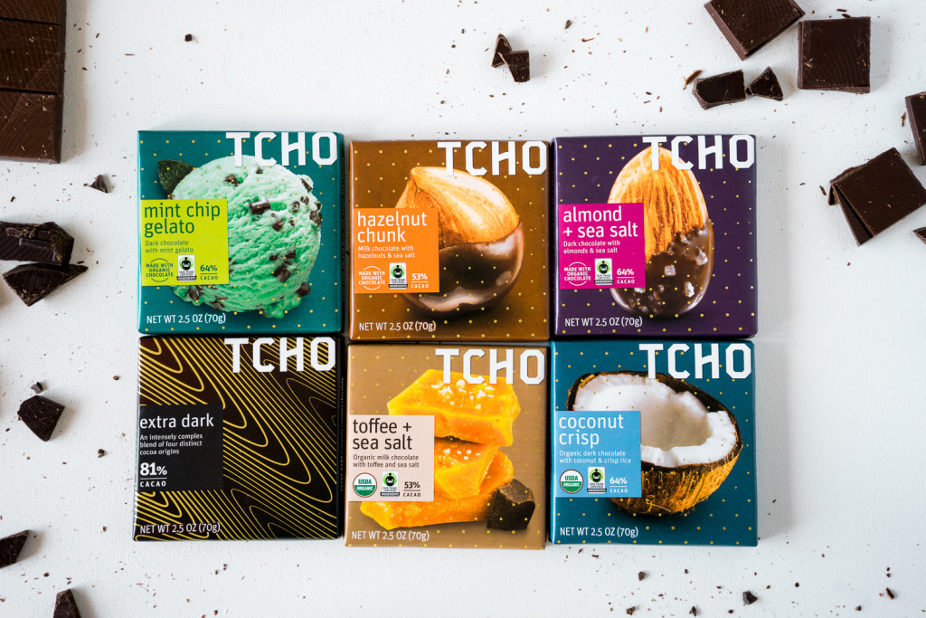 Tcho's new flavors hit the shelves last week! ||| Les nouveaux tablettes parfumées de Tcho sont arrivées dans les magasins la semaine dernière ! A Taste of Tcho Chocolate: By San Francisco food photographer Vero Kherian at misscheesemonger.com.