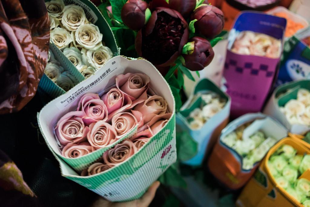 A Visit To The San Francisco Flower Mart on misscheesemonger. Photo byVero Kherian.