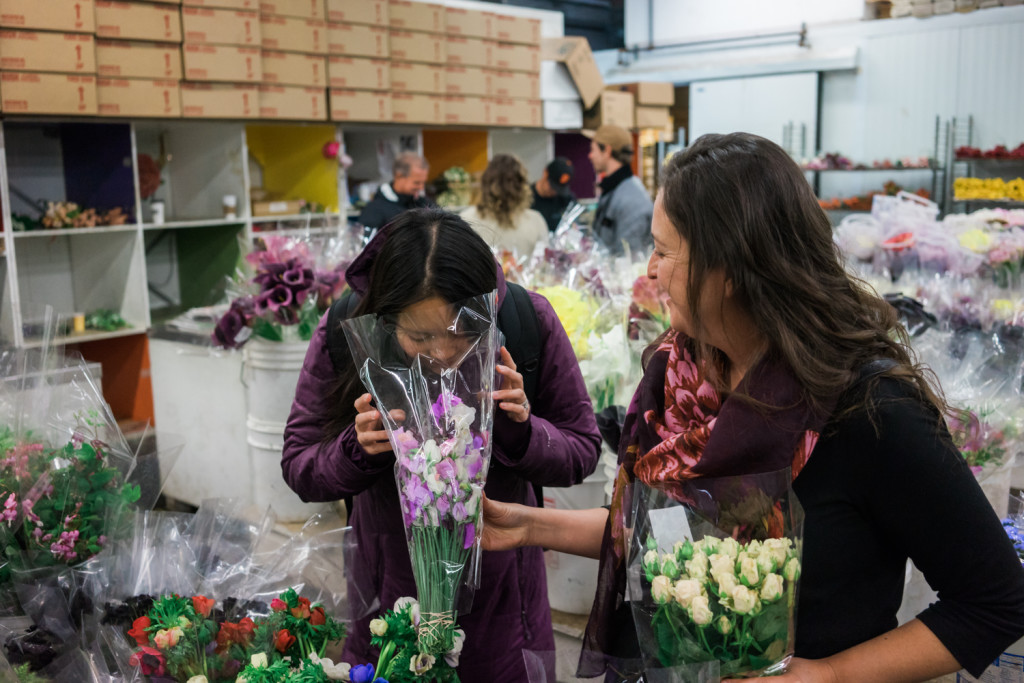 A Visit To The San Francisco Flower Mart on misscheesemonger. Photo by Vero Kherian.