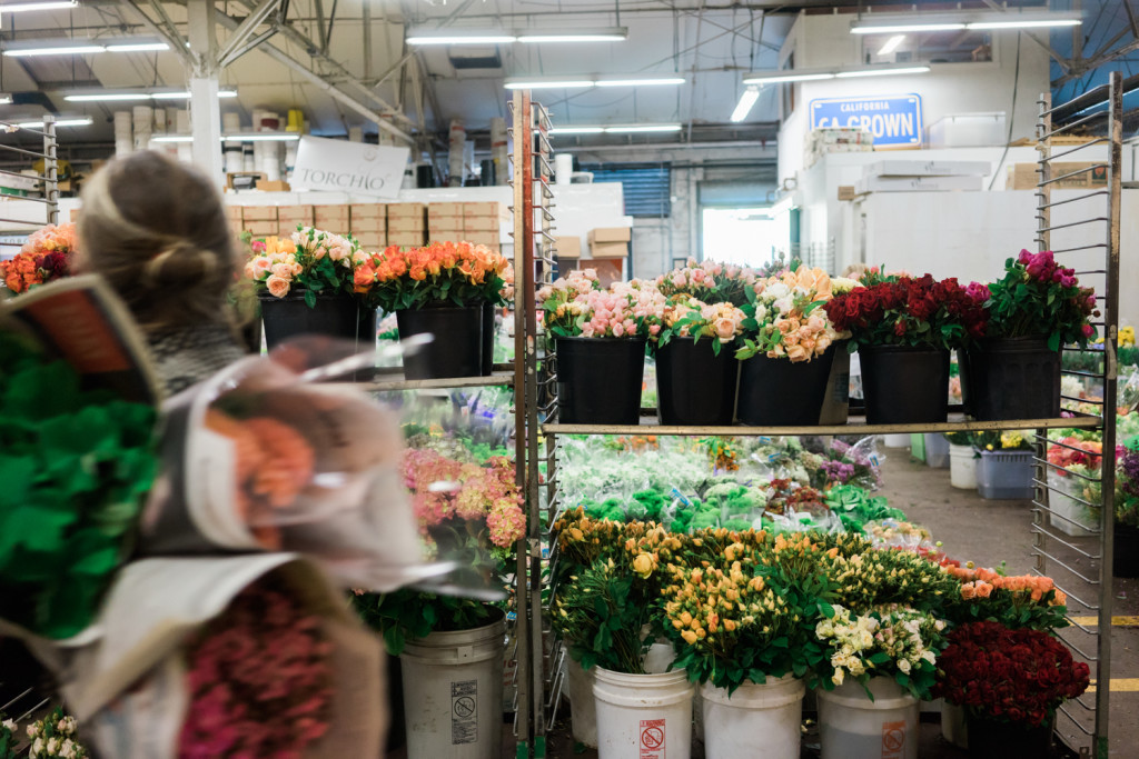 A Visit To The San Francisco Flower Mart on misscheesemonger. Photo by Vero Kherian.