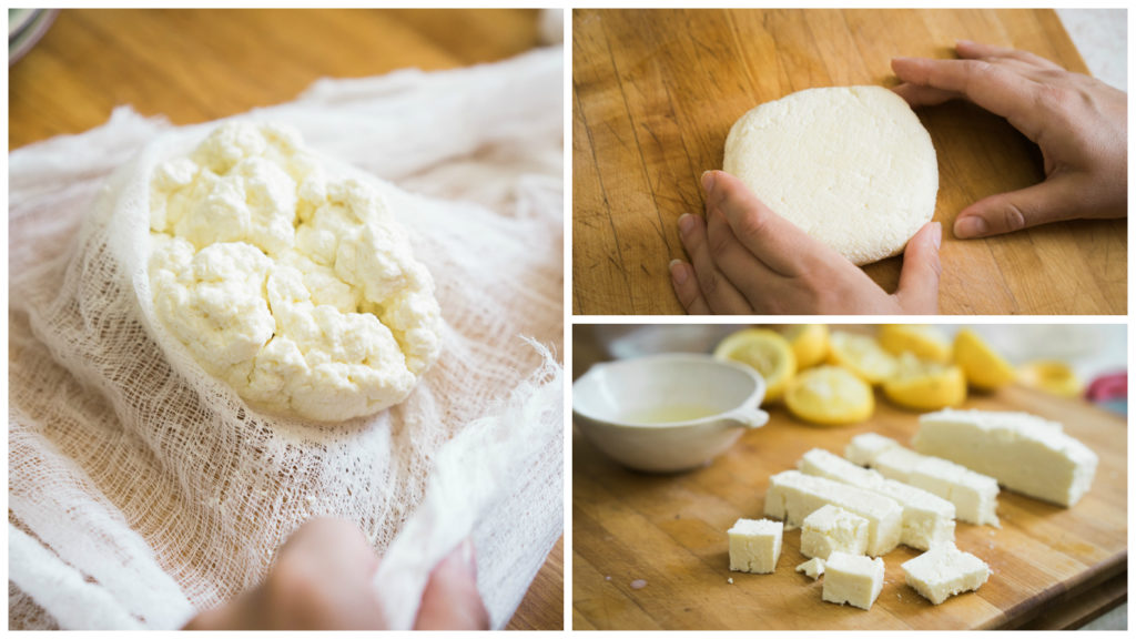 Homemade paneer recipe on misscheesemonger.com. with It's Not You, It's Brie. Photographed by Vero Kherian.