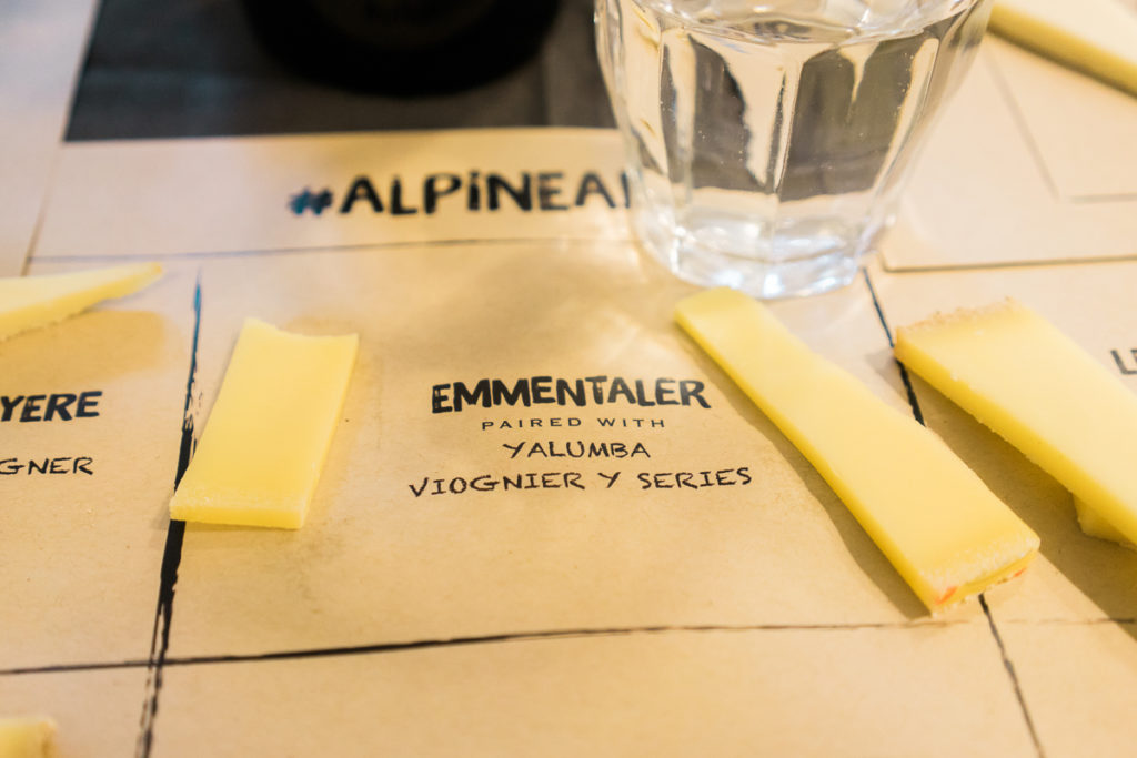 Alpine cheese tasting with Whole Foods and Sur La Table on misscheesemonger.com. By Vero Kherian.