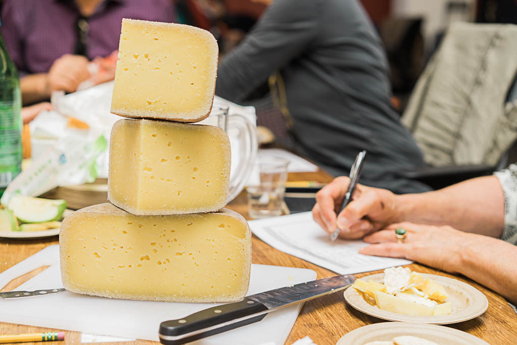What it was like judging a cheese competition. By Vero Kherian for misscheesemonger.com.
