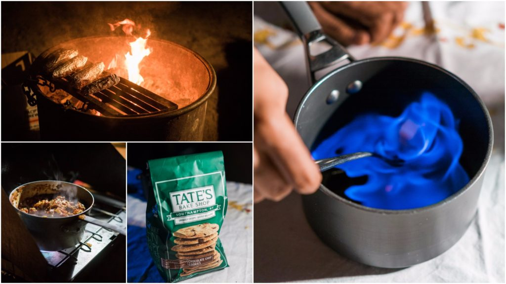 Camping food and adventures in Santa Cruz. By Vero Kherian for misscheesemonger.com.