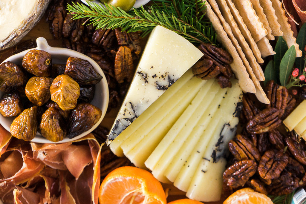 Your guests might not remember the names of all the cheeses you serve, but they will remember how happy this cheese made them feel. An unforgettable holiday cheese board with Cheese Plus. By Vero Kherian for misscheesemonger.com.