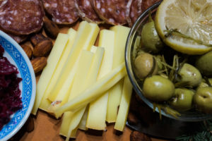 A Yukon French-Canadian cheese board. By Vero Kherian for misscheesemonger.com.