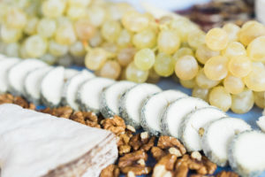 A cheese plate à la française. By Vero Kherian for misscheesemonger.com.